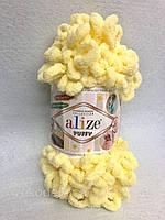 Пряжа Puffy 100гр - 9,2м (13 Желтый) Alize