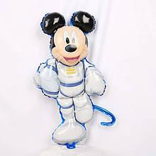 Воздушные шары из фольги с изображением космонавта микки мауса 47*80 см