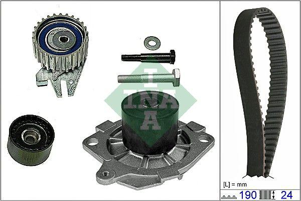 Комплект ремня ГРМ с помпой ALFA ROMEO, FIAT, LANCIA INA 530 0622 30