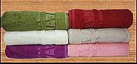 Полотенца бамбуковые (сауна) 100*150 (6шт) 550г/м2 ( TM Zeron), Турция, фото 1