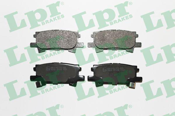 Тормозные колодки LEXUS, TOYOTA LPR 05P1436