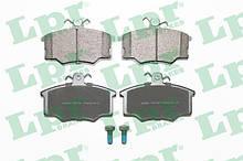 Колодки тормозные передние AUDI 80 86- / AUDI 100 76-