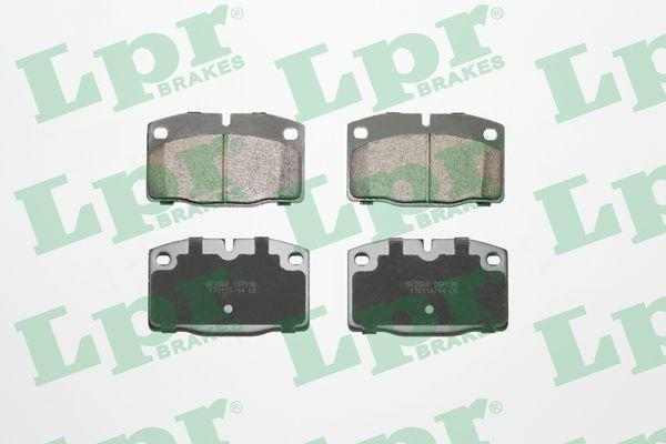 Тормозные колодки передние OPEL KADETT / OPEL ASCONA