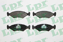 Колодки тормозные передние FORD ESCORT / FORD SIERRA