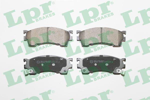 Тормозные колодки MAZDA 626 LPR 05P559