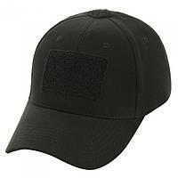 Бейсболка тактическая (кепка) з липучкой (Черный) #S/O, фото 1