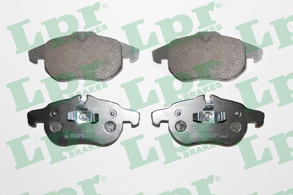 Тормозные колодки OPEL, SAAB, VAUXHALL LPR 05P814