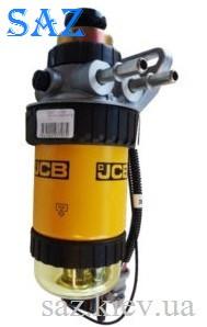 Насос сепаратор топливный грубой очистки на JCB 3CX, 4CX