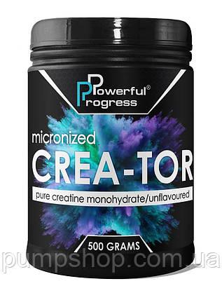 Креатин Powerful Progress Crea-Tor Micronized 500 г, фото 2
