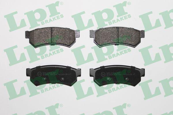 Тормозные колодки CHEVROLET LACETTI LPR 05P1564