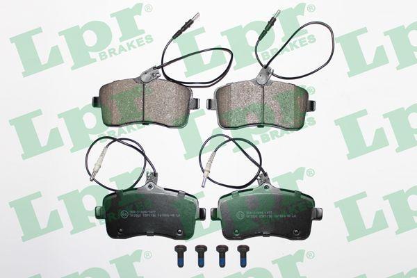 Колодки тормозные PEUGEOT LPR 05P1196