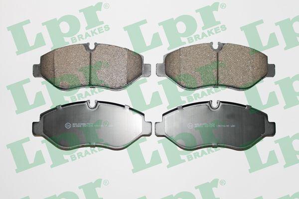 Тормозные колодки MERCEDES-BENZ, Volkswagen LPR 05P1275