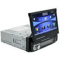 Автомагнитола 7 Lesko 9601B 1 DIN выдвижной экран 55 Вт (2736-7538)