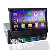 Автомагнитола 1DIN DVD-9506 Android GPS с выезжающим экраном (OL00150)