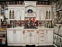 Кухня Белая готика