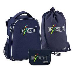 Школьный набор Kite Education Rock it Темно-синий (SET_K20-531M-2)