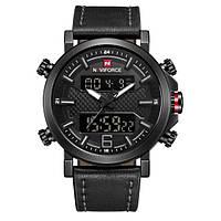 Часы мужские наручные NAVIFORCE NF9135 Black (4241-12646)