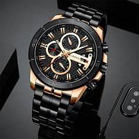Часы мужские наручные CURREN 8337 кварцевые Black (4243-12642)