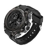 Часы наручные мужские SANDA 739 кварцево-электронные Black (4244-12647)