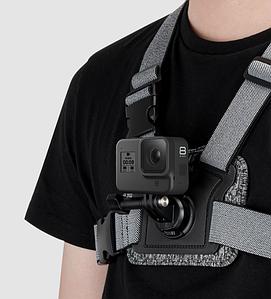 Крепление Telesin на грудь для GoPro,DJI OSMO Action