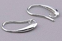 Застежка крючок для сережек (сталь) от студии LadyStyle.Biz