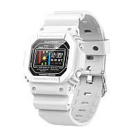 Умные часы-браслет Smart watch-bracelet X12 Pro с тонометром White (SW0001X12W)
