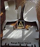 Кожаные Коврики Range Rover Evoque (2011-2018) из Экокожи 3D Коврики Рендж Ровер Эвок, фото 4