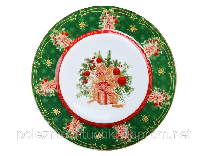 """Тарелка """"christmas collection"""" 21см"""