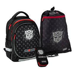 Школьный набор Kite Education Transformers Черный (SET_TF20-700M)