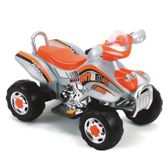Электромобиль Geoby W422А-01 оранжево -серый