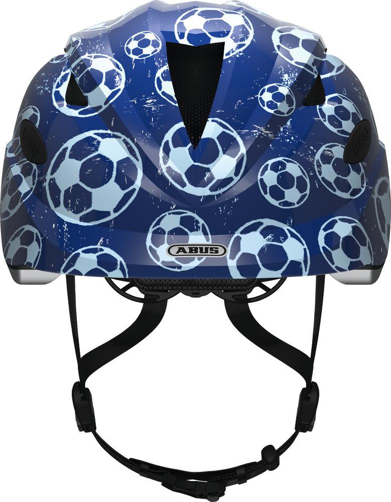 Велосипедний дитячий шолом ABUS ANUKY M 52-57 Blue Soccer 2