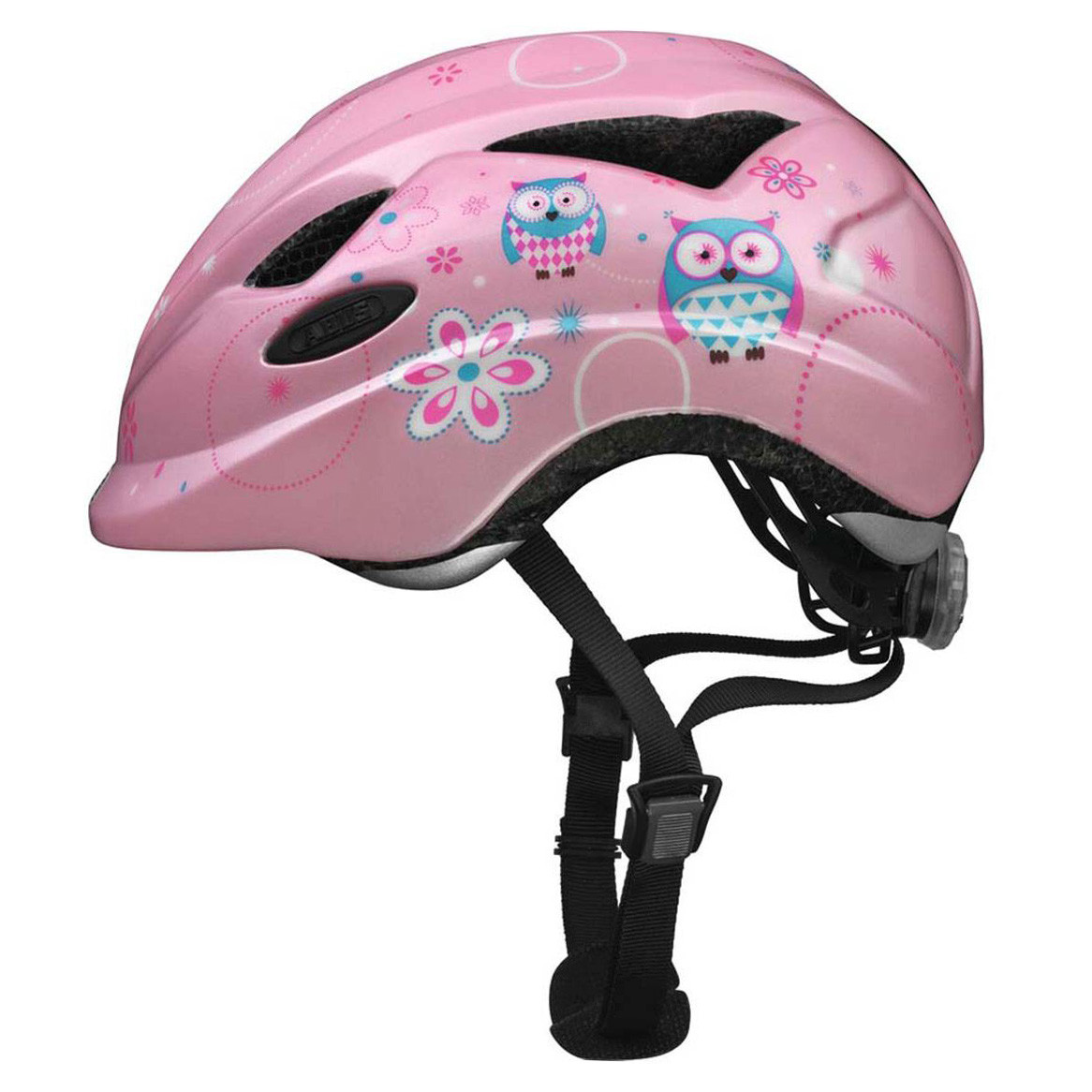 Велосипедний дитячий шолом ABUS ANUKY M 52-57 Rose Owl
