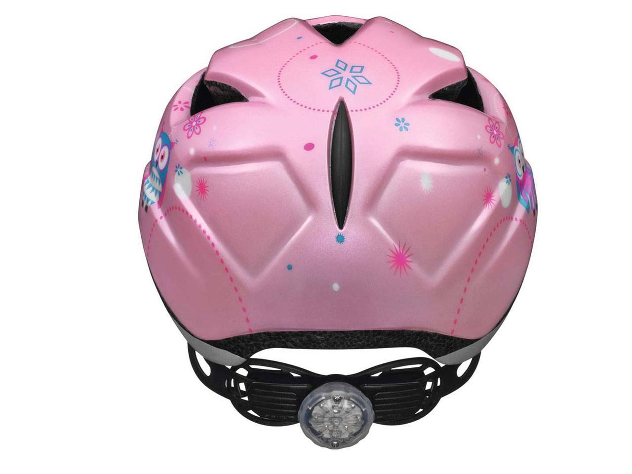 Велосипедний дитячий шолом ABUS ANUKY M 52-57 Rose Owl 3