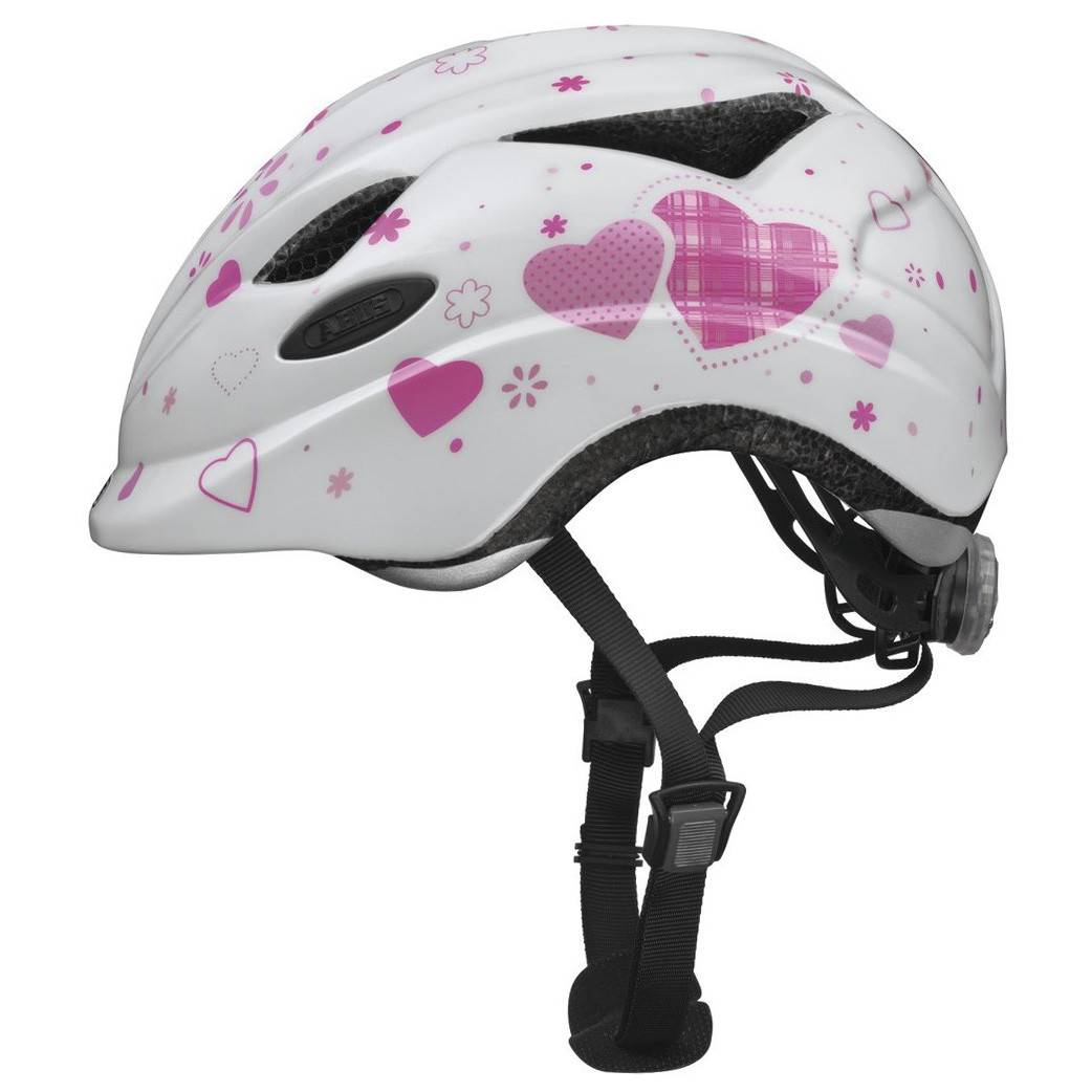 Велосипедний дитячий шолом ABUS ANUKY M 52-57 White Heart