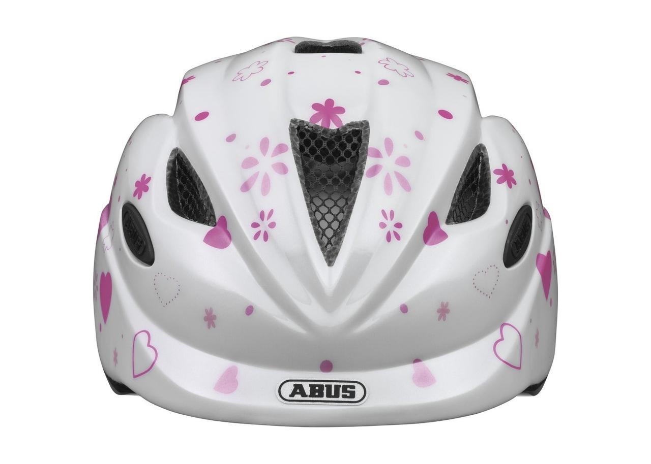 Велосипедний дитячий шолом ABUS ANUKY M 52-57 White Heart 2