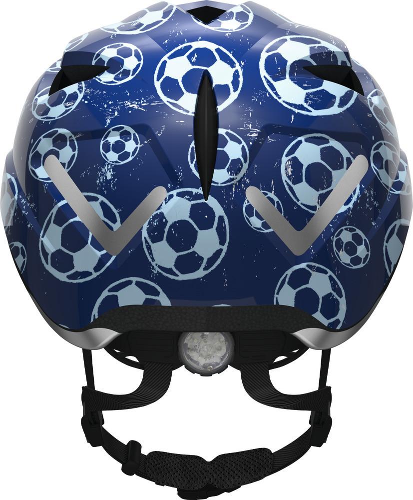 Велосипедний дитячий шолом ABUS ANUKY S 46-52 Blue Soccer 3