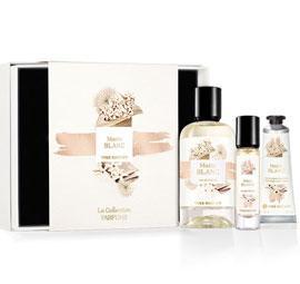 Набор подарочная коробка ив роше матин бланк matin blank парфюмированная вода 100мл и 15 мл и крем