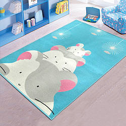 Коврик для детской комнаты Хомячки 100 х 130 см Berni Home