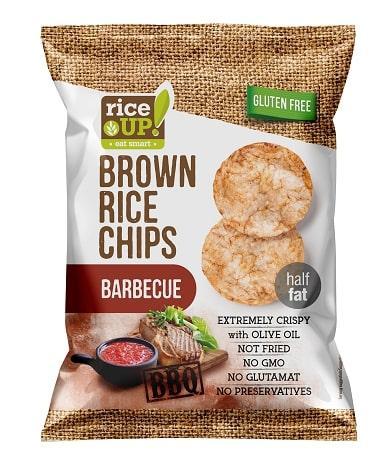 Рисовые чипсы Rice up! со вкусом барбекю 25 г