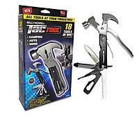 Мультитул с молотком Multi hammer 18 IN 1 SKL11-238915