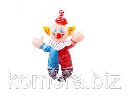 Великий Надувний Клоун З Футбольним М'ячем Висота 46 См В Упаковці 12 Шт