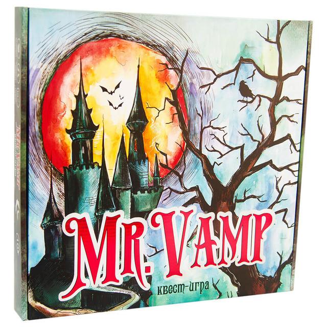 Настільна гра «Mr. Vamp» (російська мова)