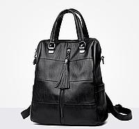 Рюкзак-сумка женский M&JJ Черный 31*34*15 (3130)