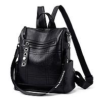 Рюкзак-сумка женский M&JJ Черный 30*31*13 (3099)