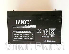 Аккумулятор Батарея 6V 7Ач для Весов,Мопедов и др. техники, фото 2