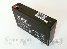 Аккумулятор Батарея 6V 7Ач для Весов,Мопедов и др. техники, фото 3
