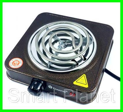 Электрическая Плита Настольная Печка Электроплитка Спираль, фото 2
