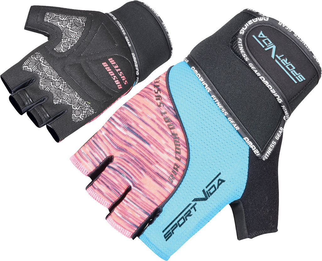 Перчатки для фитнеса SportVida SV-AG00026 (M) Black