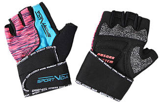 Перчатки для фитнеса SportVida SV-AG00026 (M) Black, фото 3