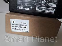 Блок Питания Зарядка для Ноутбука TOSHIBA 19v 4.74a 90W штекер 5.5 на 2.5 (ОРИГИНАЛ), фото 2